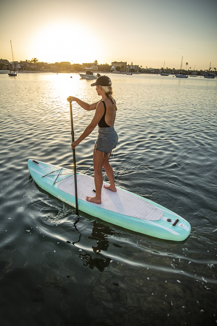 Inflatable SUP Holds Air For Months