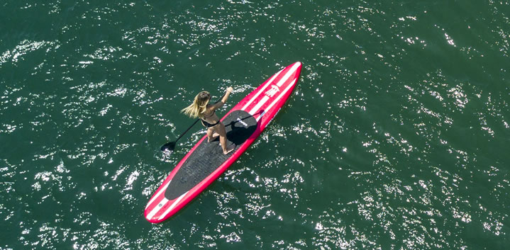 Racing SUP Review of iRace