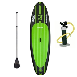 "Kawasaki Jet Ski® Watercraft Edition by Tower iSUP Package - 910"" kawasaki paddle board"