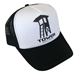 Paddle Board Hat - Tower Trucker - TW-HAT-TRK-BLK