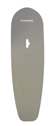 "SUP Board Deck Pad with Hand Hole (Grey, 72"") by Tower"