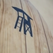 "tower 9'10"" wood classic SUP logo bottom"