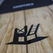 "tower 9'10"" wood classic SUP logo"