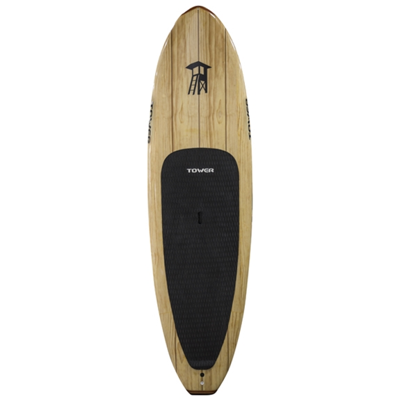 "tower 9'10"" wood classic SUP"