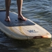 "tower 9'10"" wood classic SUP nose rocker"
