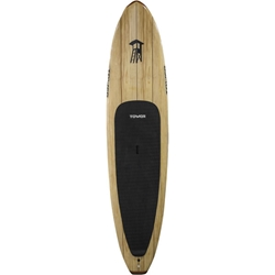 "Wood Paddle Board - 115"" Classic wood paddle board"