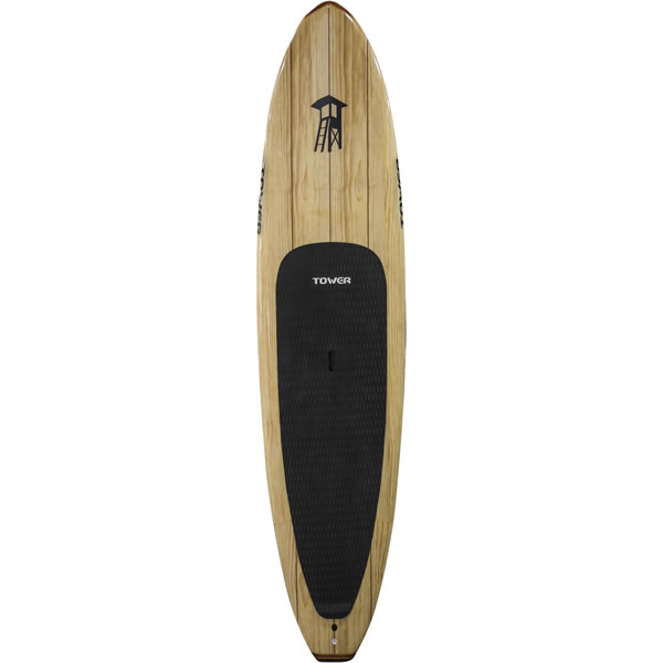 wooden sup board