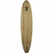 wooden paddle board bottom