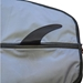 "Fin slot of SUP board bag for 11'6"" paddle board"