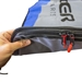 "Expanded tail zipper area SUP board bag for 11'6"" paddle board"