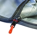 "SUP board bag for 11'6"" paddle board close up zipper"