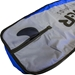 "Fin slot of SUP board bag for 12'6"" paddle board"