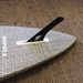 Weed Carbon Fiber SUP Fin - board bottom