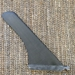 Weed Carbon Fiber SUP Fin - side