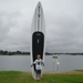14' Xplorer Inflatable Stand Up Paddle Board