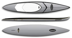 Coreban Racing SUP 14 feet