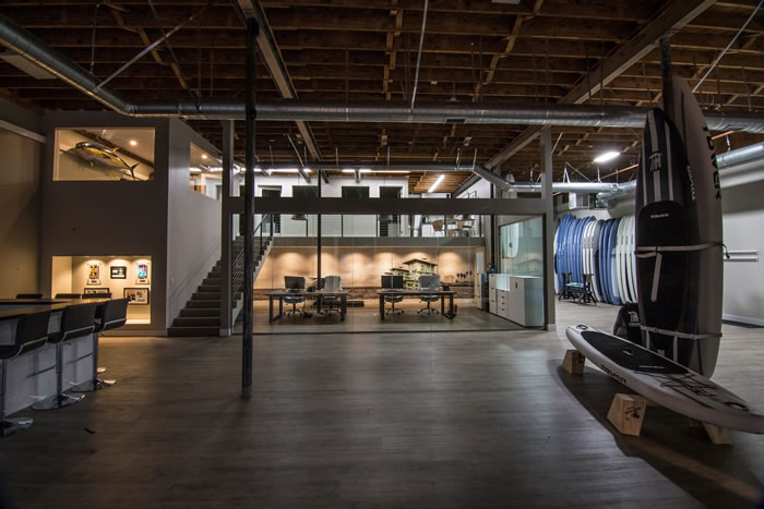 Surfing Themed Event Space San Diego